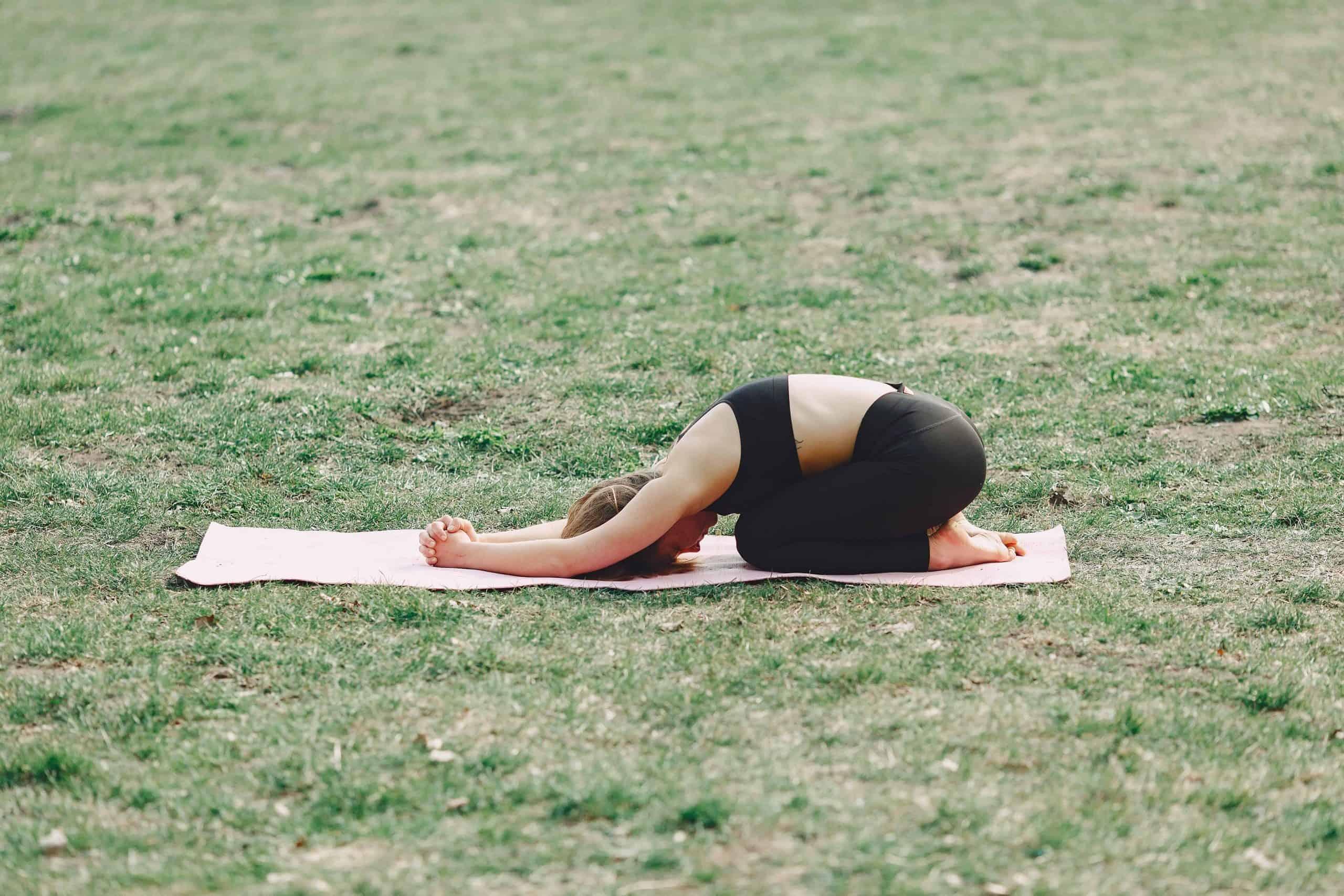posture de l'enfant, Balasana